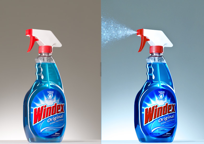 How to make a Windex Bottle look beautiful