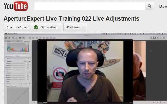 ApertureExpert Live Training 022 Live Adjustments